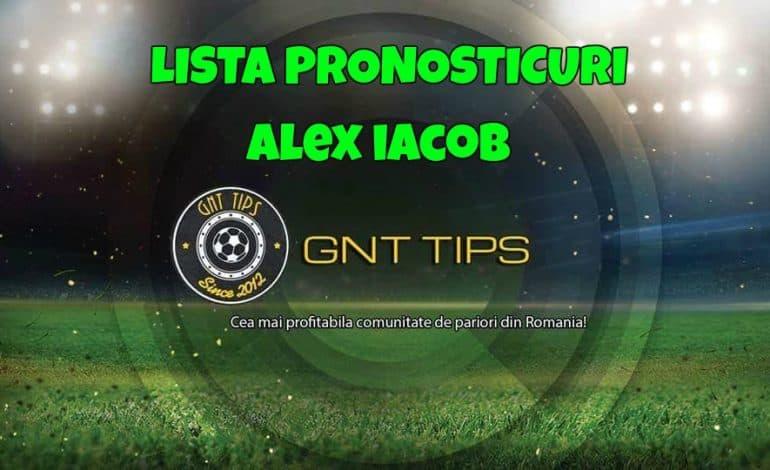Lista cu pronosticuri de la Alex Iacob 17-18 februarie
