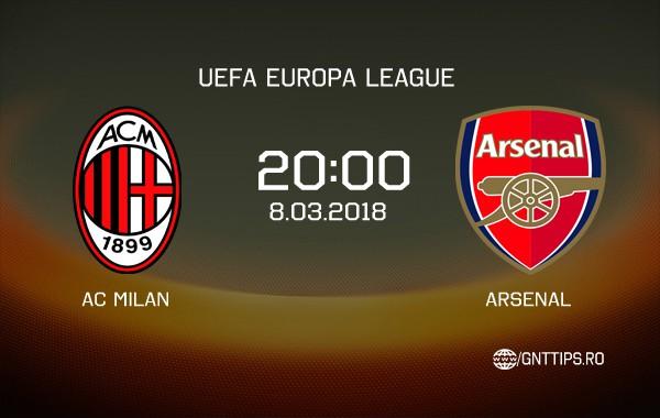 Ponturi fotbal – AC Milan – Arsenal – UEFA Europa League – 08.03.2018