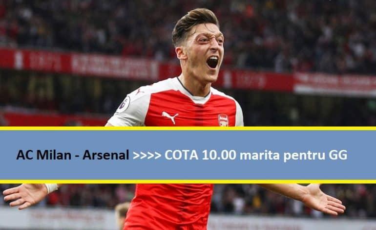 COTA 10 marita pentru GG la AC Milan – Arsenal (08.03.2018)