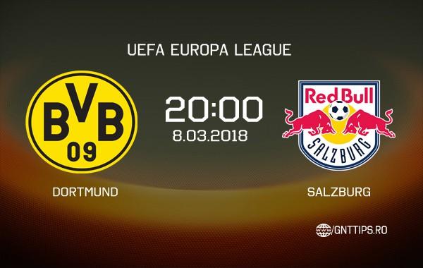 Ponturi fotbal – Dortmund – Salzburg- UEFA Europa League – 08.03.2018