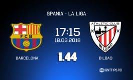 Ponturi fotbal -  Barcelona - Atletico Bilbao - La Liga - 18.03.2018