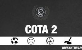 Cota 2 din fotbal pentru weekend  22.09.2018 - Gabriel
