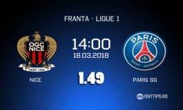 Ponturi fotbal - Nice - PSG - Ligue 1 - 18.03.2018