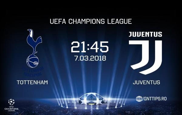 Ponturi fotbal – Tottenham – Juventus – UEFA Champions League – 06.03.2018