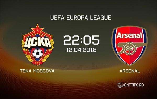 Ponturi fotbal –  TSKA Moscova – Arsenal – UEFA Europa League – 12.04.2018