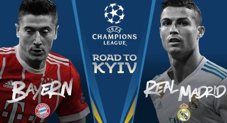 Ponturi fotbal – Bayern Munchen – Real Madrid – UEFA Champions League  – 25.04.2018