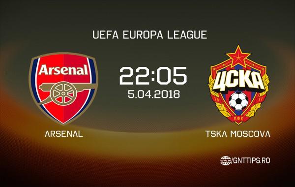 Ponturi fotbal – Arsenal – TSKA Moscova – UEFA Europa League – 05.04.2018