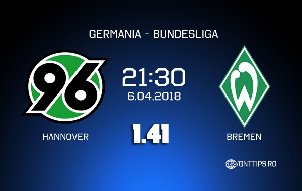 Ponturi fotbal – Hannover – Bremen – Bundesliga – 06.04.2018