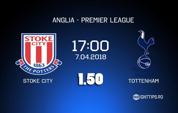 Ponturi fotbal – Stoke – Tottenham – Premier League – 07.04.2018