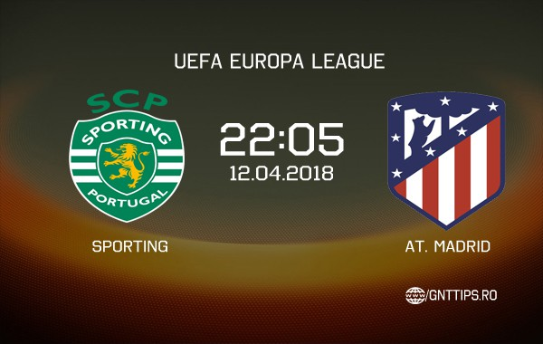 Ponturi fotbal – Sporting – Atletico Madrid – UEFA Europa League – 12.04.2018