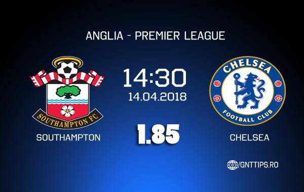 Ponturi fotbal – Southamton – Chelsea – Premier League – 14.04.2018