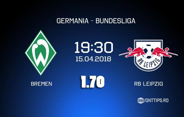Ponturi fotbal – Bremen – RB Leipzig – Bundesliga – 15.04.2018