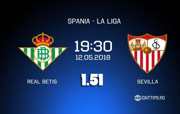 Ponturi fotbal – Real Betis – Sevilla – La Liga – 12.05.2018