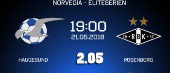 Ponturi fotbal - Haugesund - Rosenborg - Eliteserien - 21.05.2018