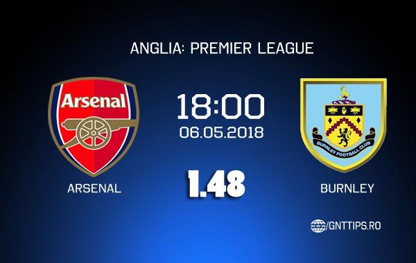 Ponturi fotbal – Arsenal – Burnley – Premier League – 06.05.2018