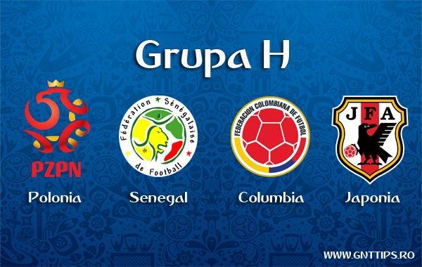 Campionatul Mondial 2018 – Prezentare Grupa H