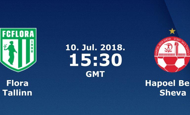 Ponturi fotbal – Flora – H. Beer Sheva – Preliminarii UEFA Champions League – 10.07.2018