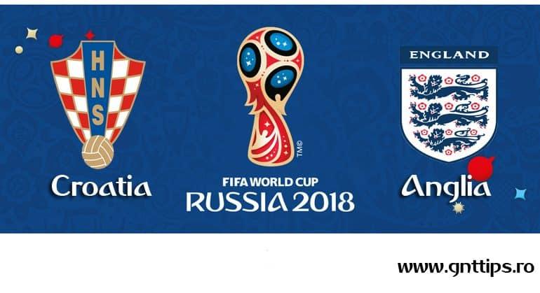 Ponturi fotbal – Croatia – Anglia – Campionatul Mondial – Semifinale – 11.07.2018