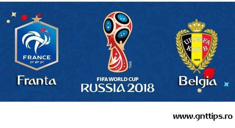 Ponturi fotbal – Franta – Belgia – Campionatul Mondial – Semifinale – 10.07.2018