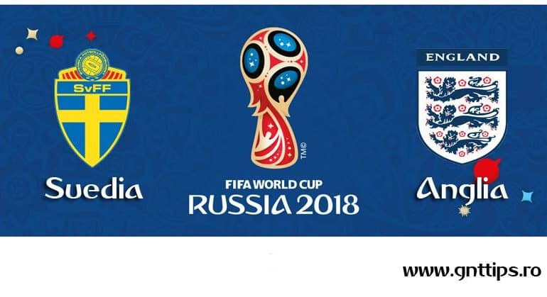 Ponturi fotbal – Suedia – Anglia – Campionatul Mondial – Sferturi – 07.07.2018