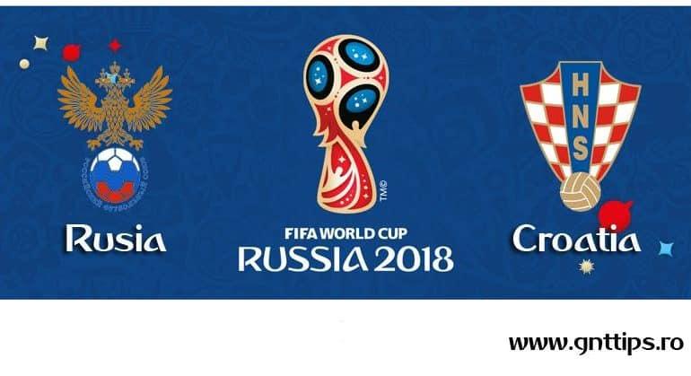 Ponturi fotbal – Rusia – Croatia – Campionatul Mondial – Sferturi – 07.07.2018