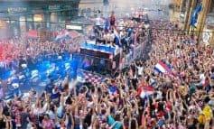 Peste 500.000 de oameni au intampinat nationala Croatiei la intoarcerea acasa