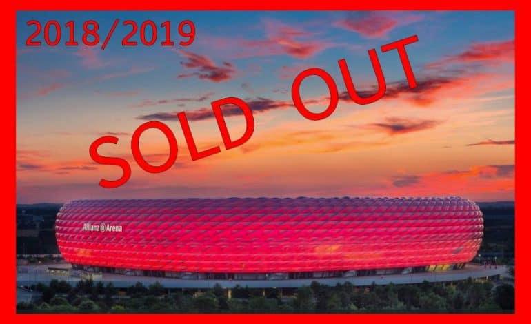 O celebra echipa de fotbal a vandut toate biletele pentru sezonul 2018/2019