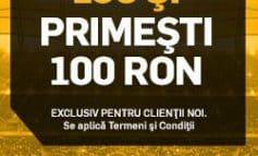 Bonus de 100 de ron pentru jucatorii noi la Betfair