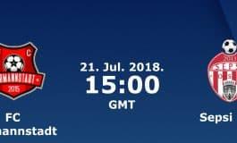 Ponturi fotbal - Hermannstadt – Sepsi Sfantu Gheorghe - LIGA 1 - 21.07.2018