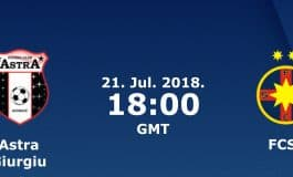 Ponturi fotbal - Astra - FCSB - LIGA 1 - 21.07.2018