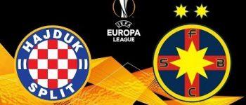Bani pe jos! Profit garantat 100% CASH la meciul FCSB vs Hajduk Split - 16.08.2018