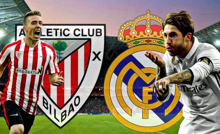 Pariaza pe Athletic Bilbao – Real Madrid si primesti un bonus pentru pariu combinat