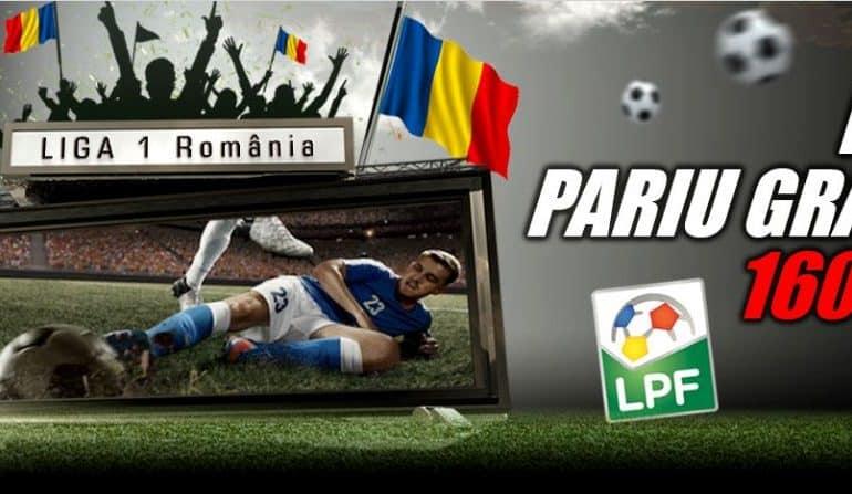 Pariuri Live gratuite pentru meciurile din Liga 1