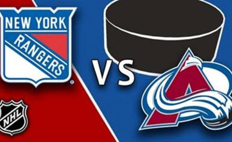 Ponturi hochei – New York Rangers – Colorado Avalanche – NHL – 17.10.2018