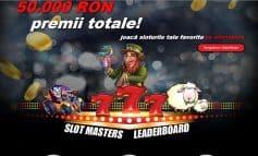 Joaca in cazinoul online Winmasters pentru premii de 50 000 de ron!