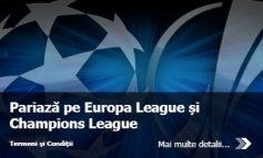 Obtine un pariu gratuit live de 50 de ron pentru Cupele Europene!