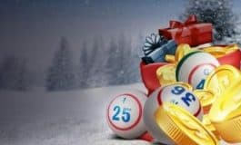In decembrie ninge cu premii la Unibet Bingo