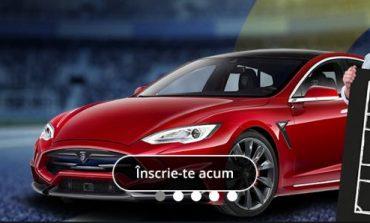 Castiga o masina Tesla cu sponsorul nationalei de fotbal!