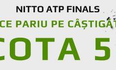 Pariaza cu cota 50.00 pe orice castigator in meciurile de la ATP Finals!
