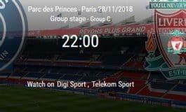 PSG vs Liverpool: cota 30.00 pentru minim un gol marcat