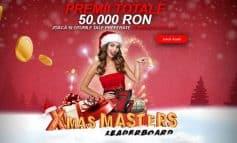 Joaca la Sloturile de Craciun Winmasters pentru premii de 50.000 RON